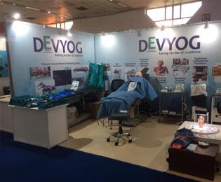 Devyog at The Medical Fair India