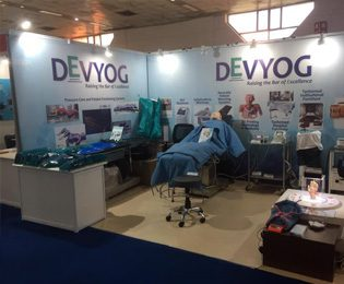DEVYOG at The Medical Fair India, April 2017